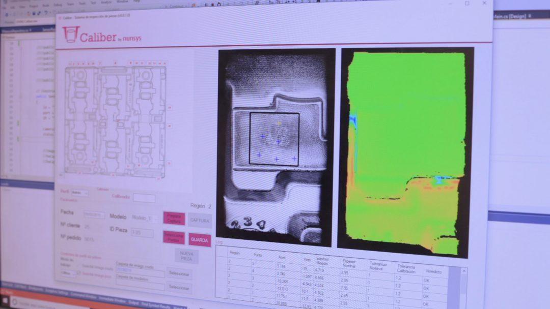control de calidad con visión artificial